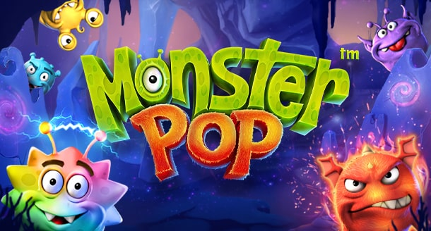 Monster Pop, a new slot by Betsoft Gaming